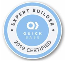 Certified Quick Base Expert builder